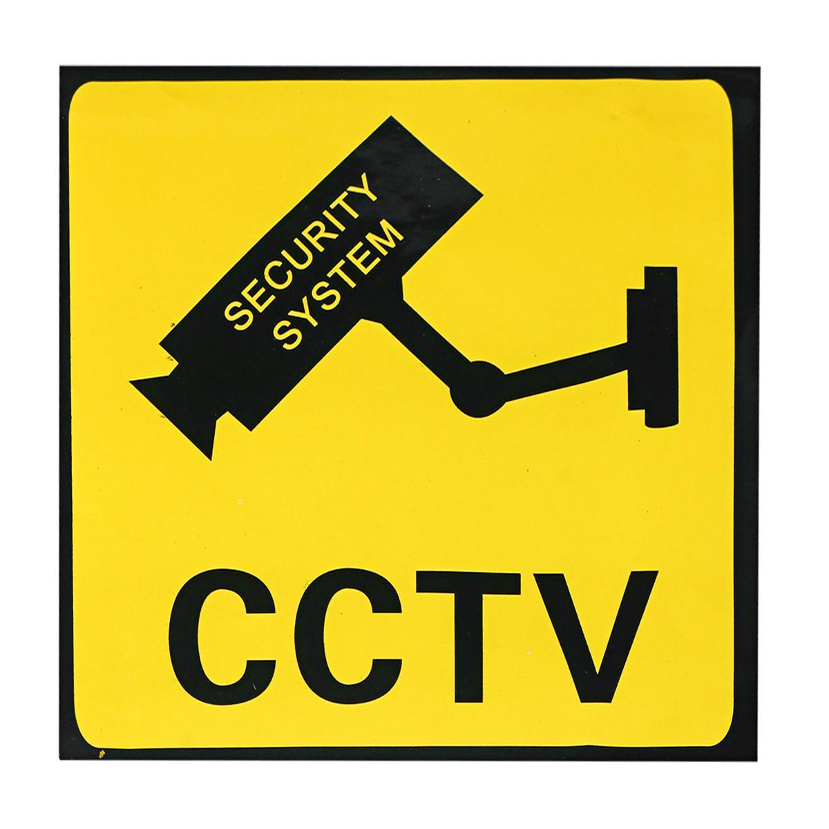 Home CCTV Surveillance Security Camera Sticker Warning Decal Signs 1 piece
