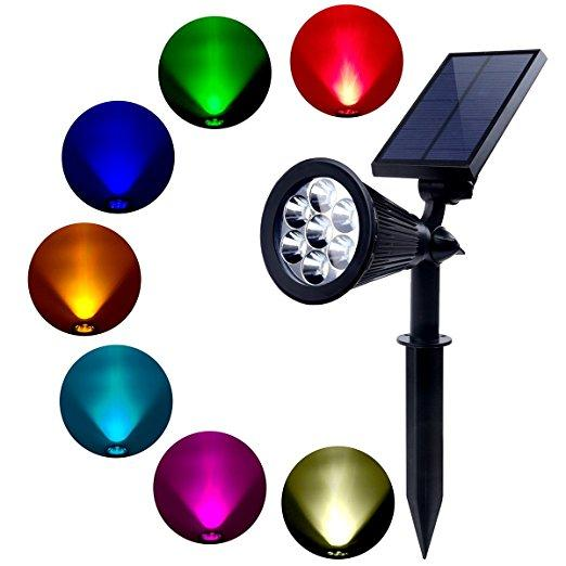 Solar Lights Outdoor 7 Led