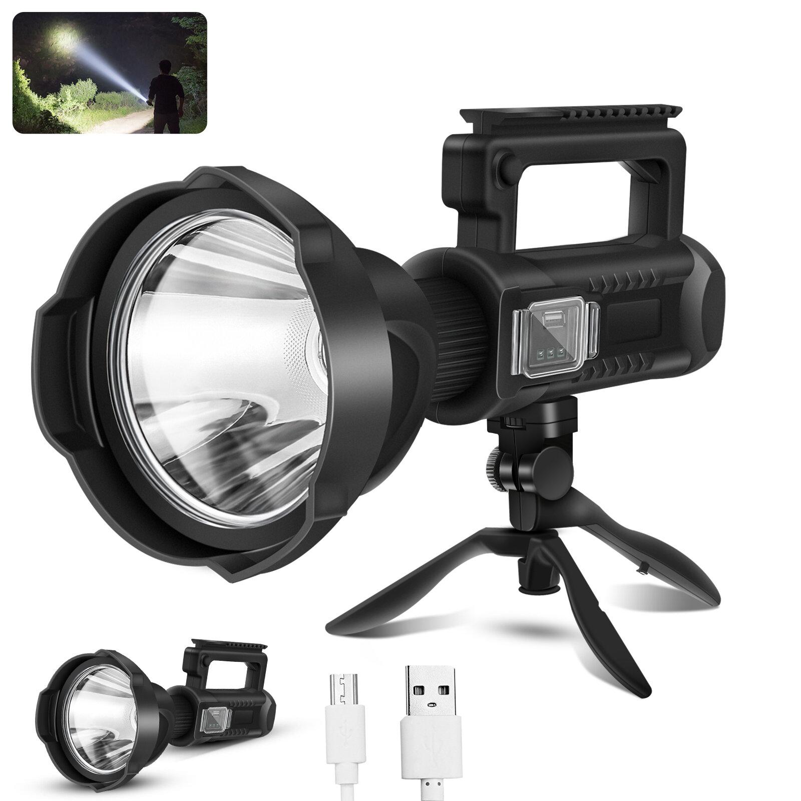 Latarka Rechargeable P70 Spotlight Flashlight za $21.88 / ~85zł