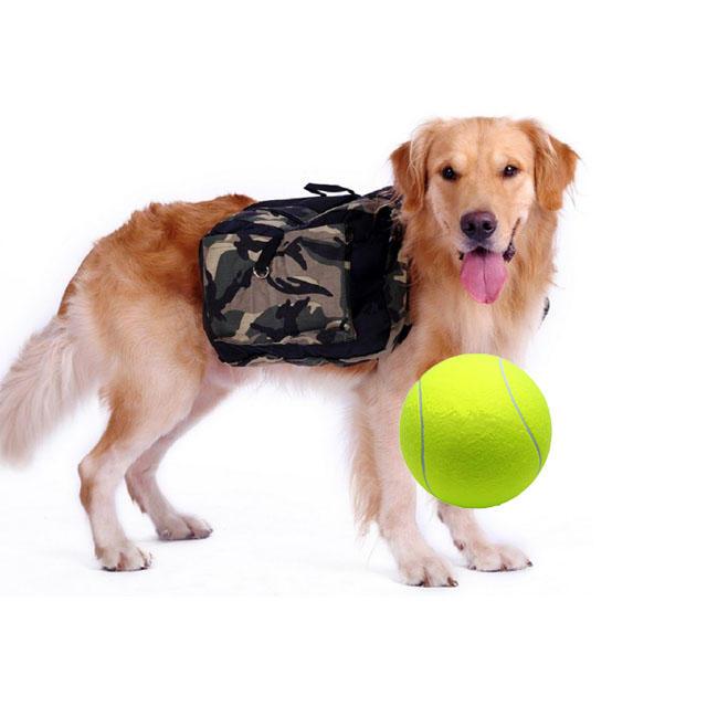 Yani DCT-2 Squishy gigante de pelota de tenis Perro juguete de masticar deporte al aire libre juego tirada ejecutar 24-24MM Fetch