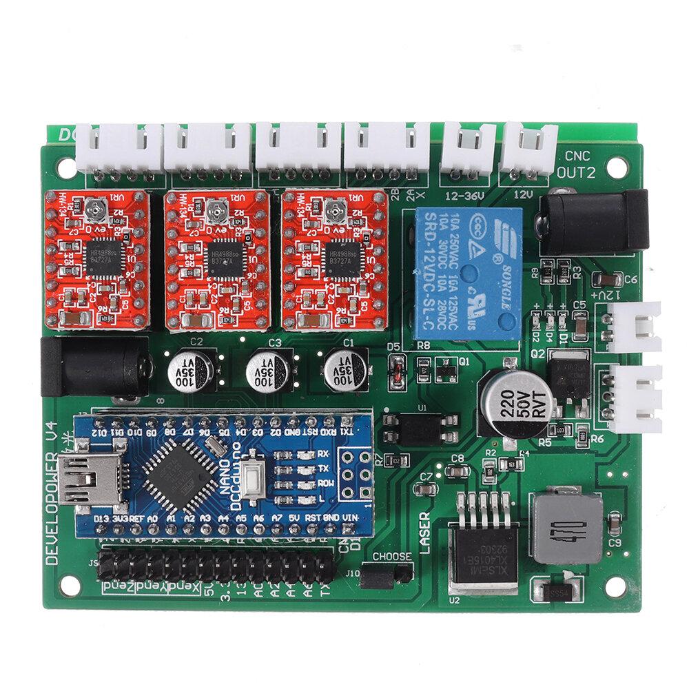 Original 3018 CNC Router 3 Axis Control Board GRBL USB Stepper Motor DriverDIY Laser Engraver Milling Engraving Machin