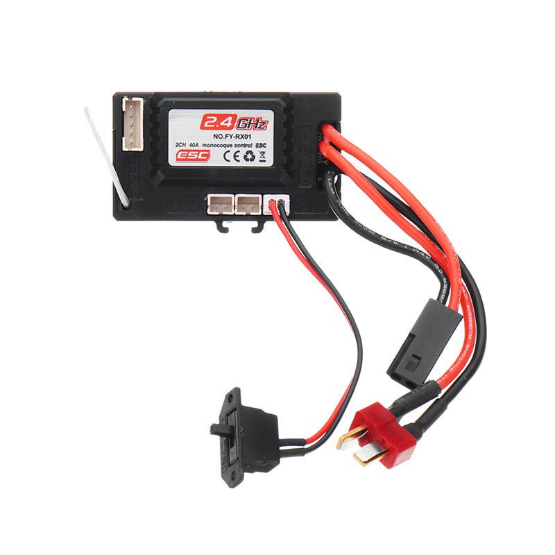 JJRC Q39 2.4G R/C 4WD 1:12 RC Car Parts NO.FY-RX01 2CH 40A Monocoque  Control ESC Receiver