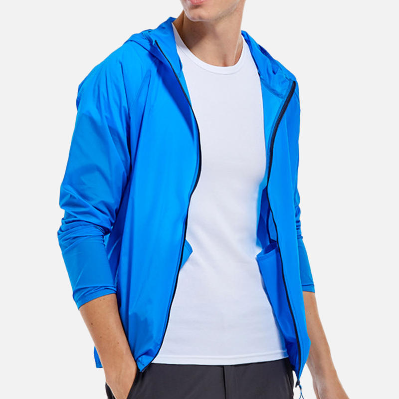 Mens Outdoor Breathable Spring Fast Drying Elastic Waterproof Coats