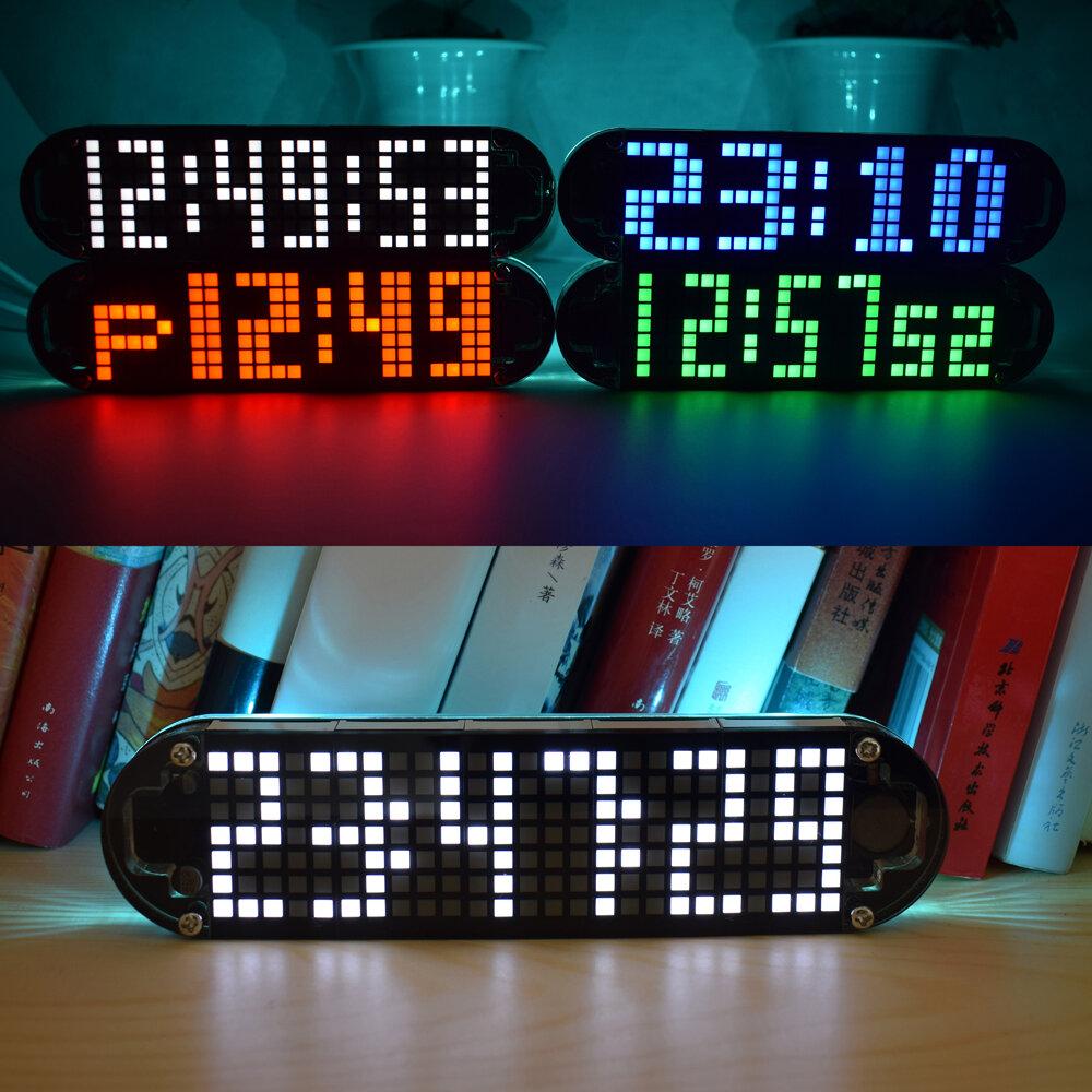 Geekcreit® DS3231 High Accuracy Multifunction LED Dot Matrix Animation Effects Clock DIY Kit