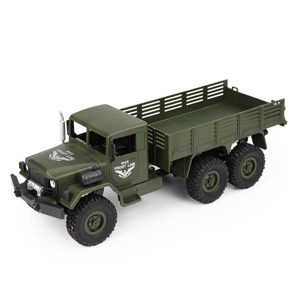 JJRC Q63 1/16 2.4G 6WD Off-Road Transporter Military Truck Crawler RC Car RTR