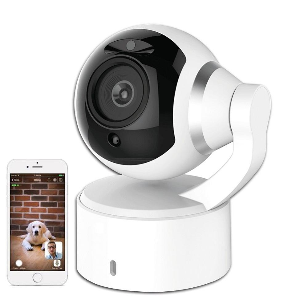 Pet Monitor 1080 IP WiFi Camera with 2 Way Audio Night Vision for Dog Monitor Interact with Pet