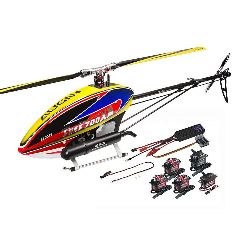 ALIGN T-REX 700XN Helicóptero Dominator Super Combo