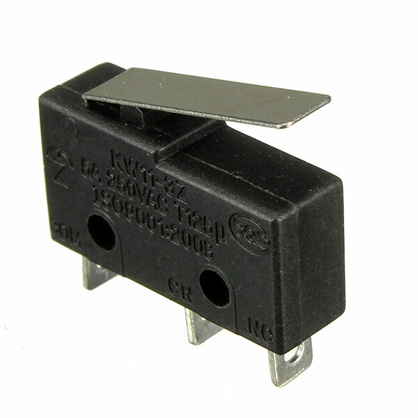 10pcs 5A 250V 3 Pin Tact Switch Sensitive Microswitch Micro Switches Handle KW11-3Z Limit Switch