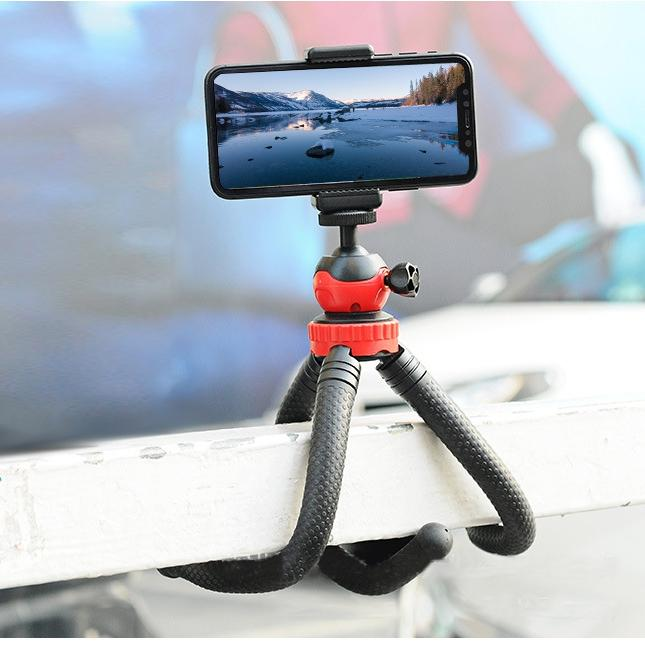 Octopus Tripod Spherical Panoramic Gimbal bluetooth Control FPV For Smartphone SLR Gopro Camera
