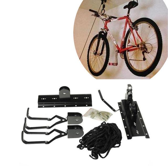 Bicycle Shelf Storage Rack Mount Hanger Hook Garage Wall Bike Holder Racks House Bicycle Wall Mounted Stands