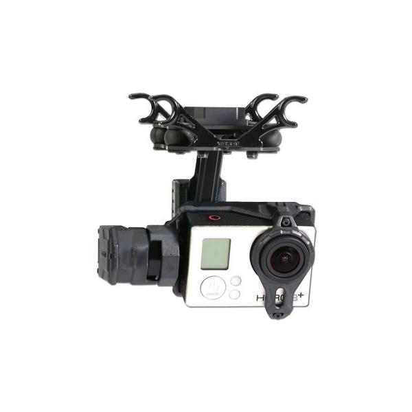 Tarot TL2D01 T2-2D 2 Axis Brushless Gimbal PTZ for Gopro 3 3+ 4 Sports camera FPV RC Drone
