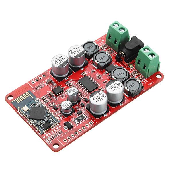 30W 8V ~ 26V DC Tablero amplificador de audio digital de doble canal Bluetooth o conector de audio de 3,5 mm Entrada auxiliar TPA3118 30W Tablero amplificador digital