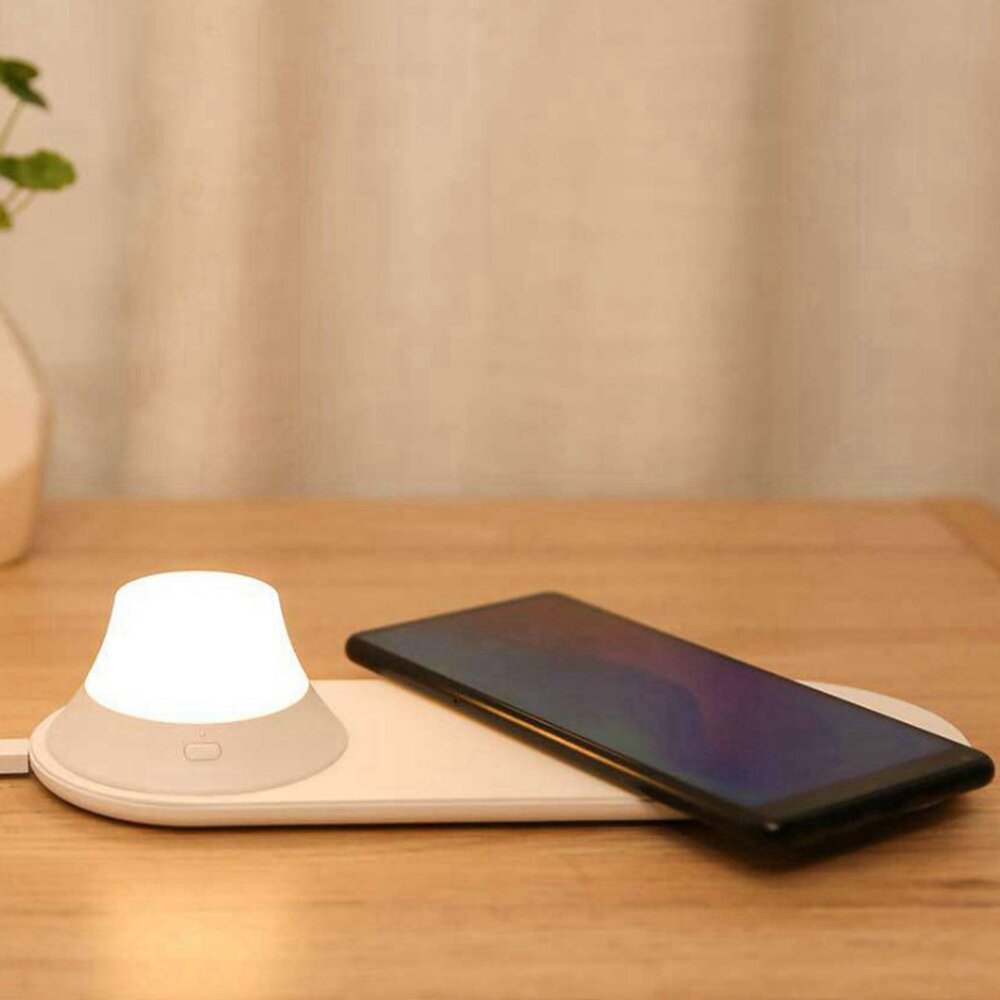 Yeelight Wireless Charger with LED Night Light