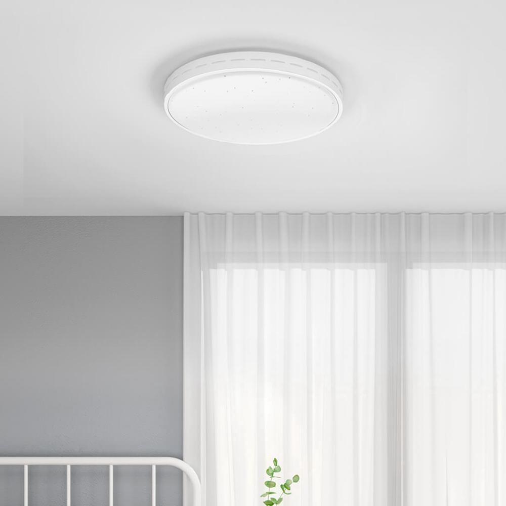 Yeelight 35W Nox Round Diamond Smart LED Ceiling Light APP Control for Home Bedroom (Xiaomi Ecosystem Product)
