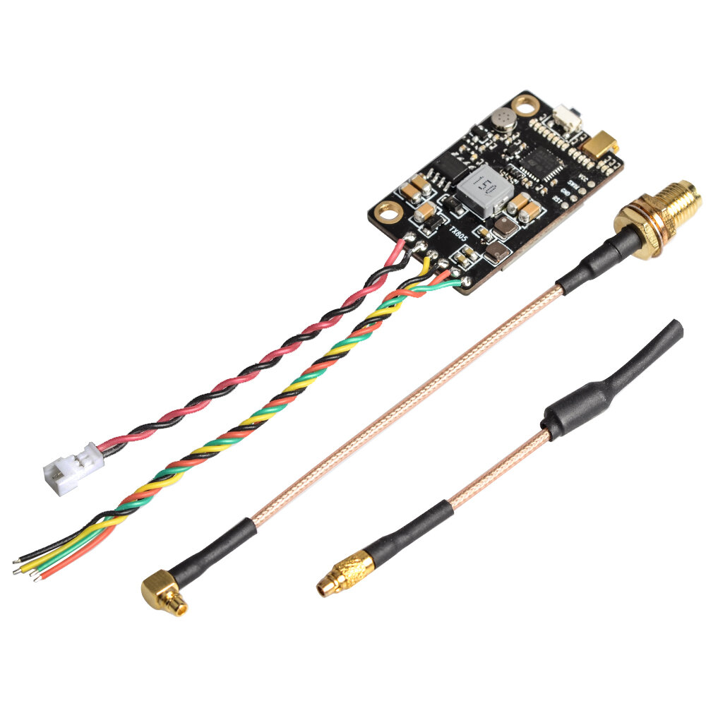 Eachine TX805 5.8G 40CH 25/200/600 / 800mW FPV Transmitter TX LED Display Dukungan OSD / Pitmode / Smart Audio