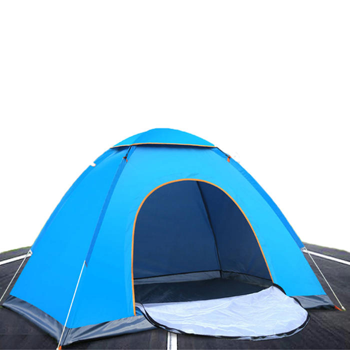 Outdoor Hiking Camping Tent Anti-UV 2 Person Ultralight Folding Tent Pop Up Automatic Open фото