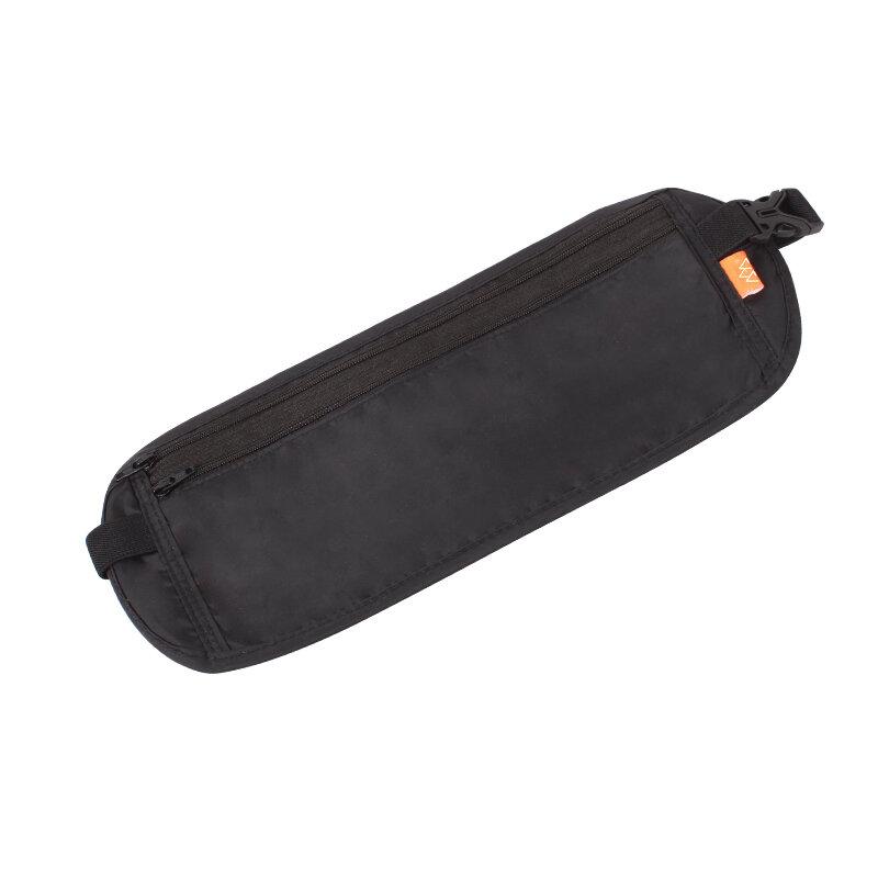 SANTO Waist Bag Fitness Hiking Travel Passport Card Bag Wallet Pouch Earphone Data Cable Organizer