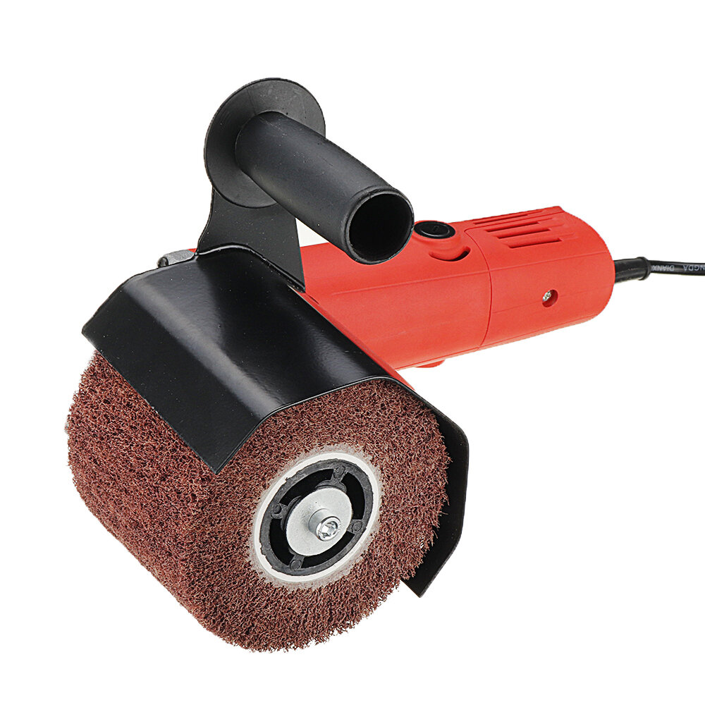 Drillpro Angle Grinder Burnishing Polishing Machine Attachment Metal Steel Wood Sander for 115 125 Angle Grinder