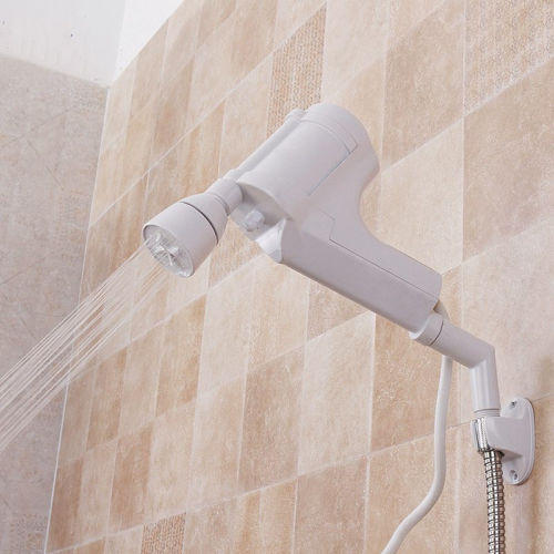 220V AC Tankless Electric Water Calentador Instant Cuarto de baño Calentador de agua caliente Spray Shower Faucet