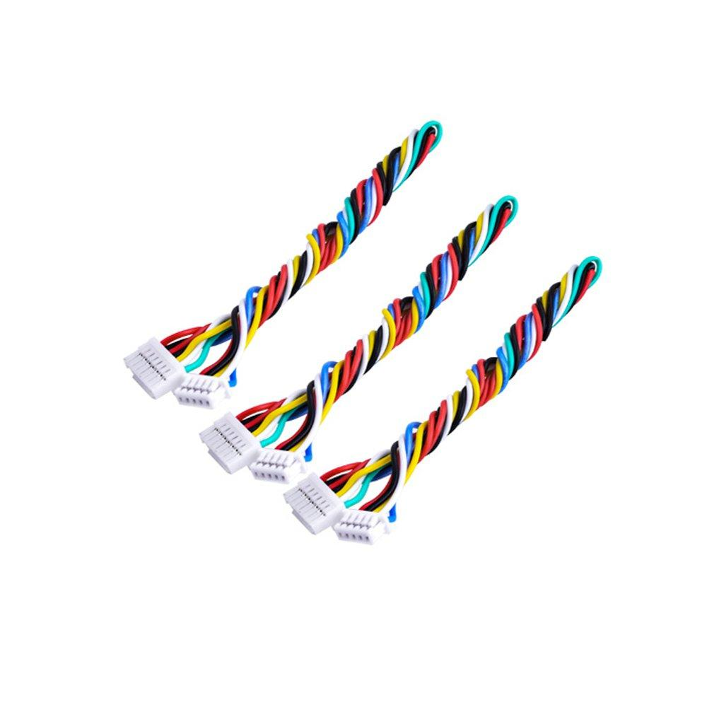 7P 7 Pin Silicone Cable For TBS UNIFY PRO HV / Race RunCam Swift 2 / Owl 2
