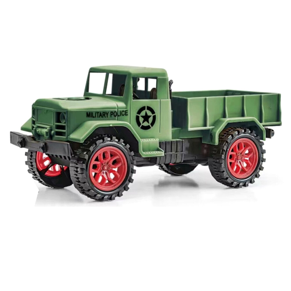 1/24 27Mhz 4WD Crawler Off Road RC Coche RTR Vehículos Modelos militar Camión