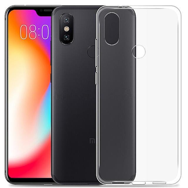 meet 8cf14 f65b3 Bakeey Transparent Ultra Slim Soft TPU Protective Case For Xiaomi Mi A2  Lite / Xiaomi Redmi 6 Pro