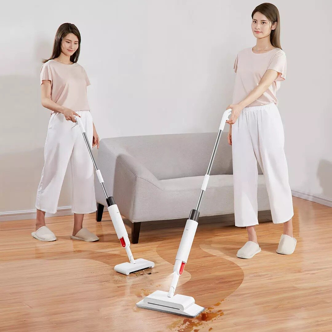Deerma DEM-TB900 2 in 1 Smart Cordless Handheld Sweeper Spray Mop Sterilization Dust Rechargeable from Xiaomi Youpin