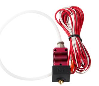 Kit d'extrémité chaude de buse d'extrudeuse 24V 40W avec thermistance de température et tube de chauffage pour l'imprimante 3D 3D Ender-3