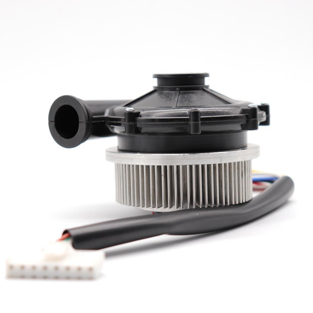 WM7060 DC 12 V / 24 V Yüksek Basınç Blower 12Kpa Fırçasız DC Blower Küçük Santrifüj Fan Için uyku Ventilatör Oksijen Tedavisi