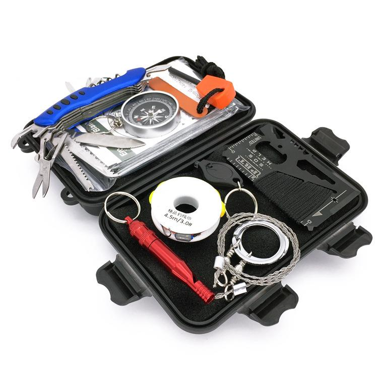Hunting Outdoor Sports SOS Emergency Survival Equipment Kit Tactical Tool