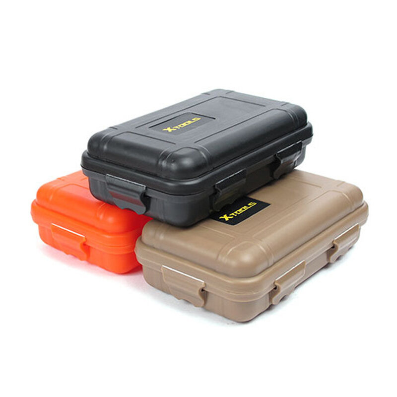 EDC Waterproof Survive al box Container Capsule Dry Bottle Case Outdoor Hik P1