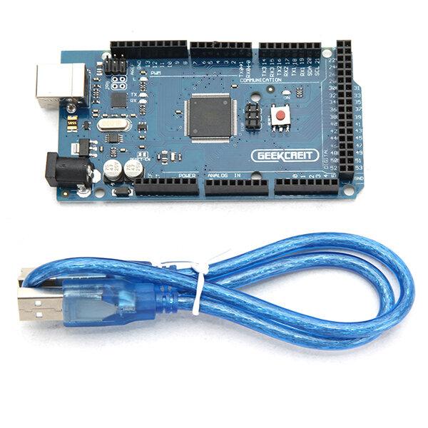 Geekcreit® MEGA 2560 R3 ATmega2560 MEGA2560 Development Board With USB Cable For Arduino