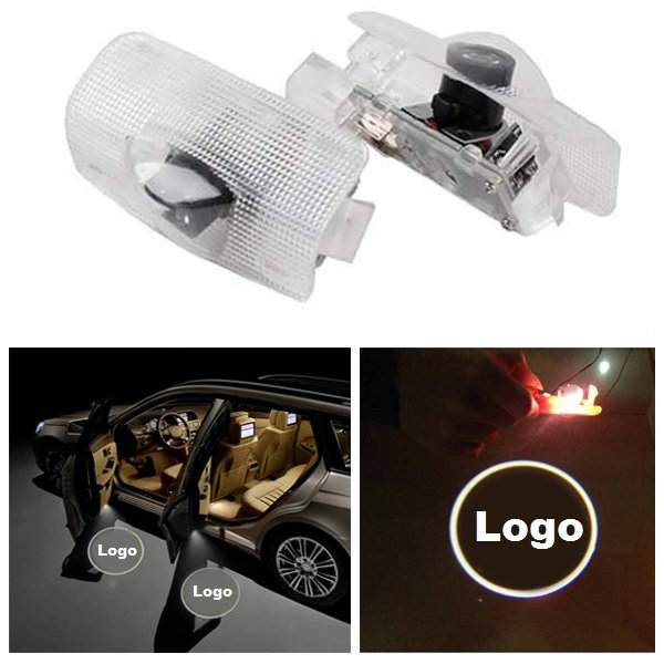 Led Car Door Welcome Logo Ghost Shadow Light Laser Projector Lamp