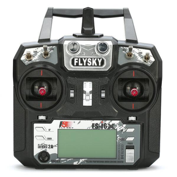 Flysky i6X FS-i6X 2,4 GHz 10CH AFHDS 2A RC-sändare med X6B / IA6B / A8S mottagare för FPV RC Drone