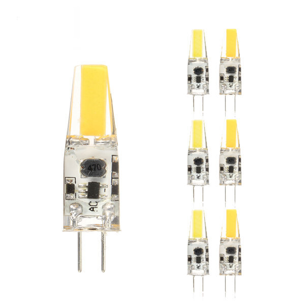 ZX LED COB LED Glühlampe 2W DC / AC 12V Kronleuchter Licht ersetzen Halogen G4 Dimmbare Mini G4 Leuchten