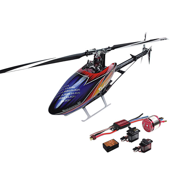 Align T-REX 470LM 470L Dominator RC Helicopter RH47E01XT Super Combo