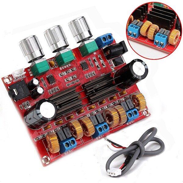 DC12-24V TPA3116D2 2 1 Channel Digital Subwoofer Power Amplifier Board