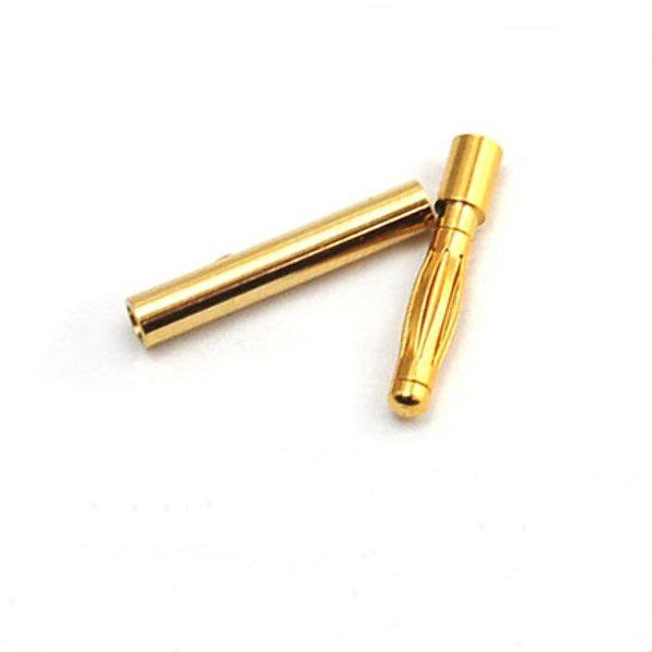 20 Paires 2mm Gold Bullet Banane Connecteur Prise Pour ESC Batterie Moteur