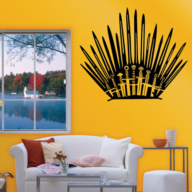 Prime T 2 Game Props Right Iron Throne Stickers Carved Creative Wall Stickers Toilet Stickers Creativecarmelina Interior Chair Design Creativecarmelinacom
