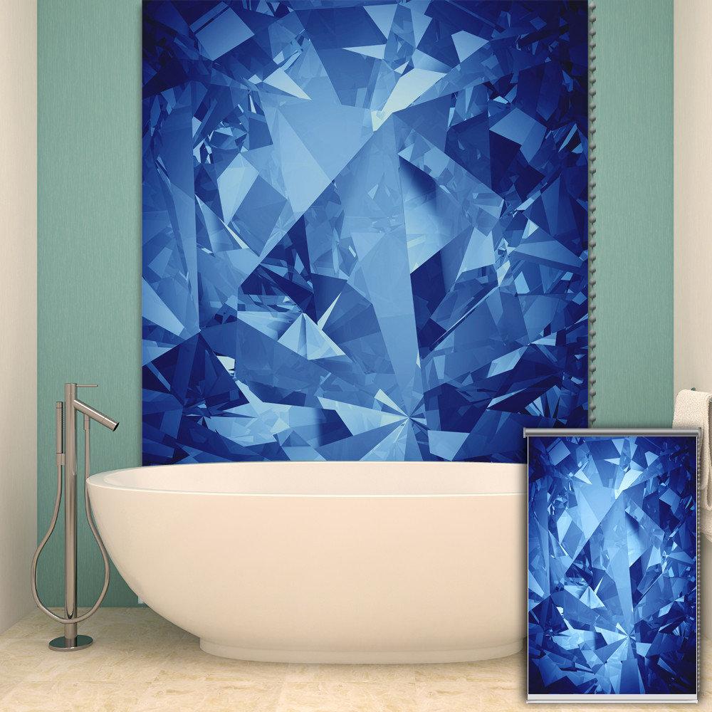 Rolety do malowania PAG Rolety do malowania tła Dekoracje do ścian w kolorze niebieskim