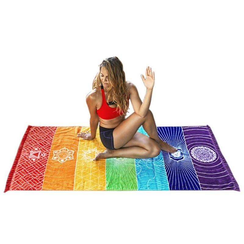 Fitness Yoga Mat Slimming Exercise Gym Pad Bohemian Style