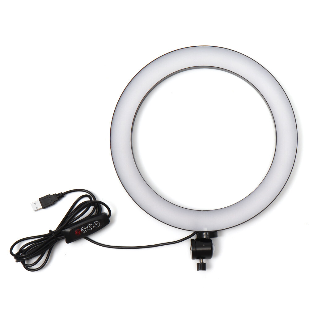 Usb 26cm 5500k Video Ring Light With
