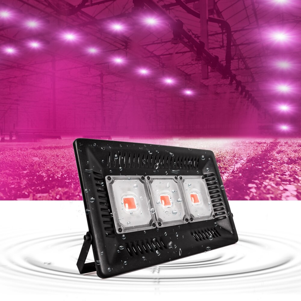 ARILUX® 150W Full Spectrum LED-installatie Groeien Opknoping Flood Light Waterdichte Thunder Protection 220-240V