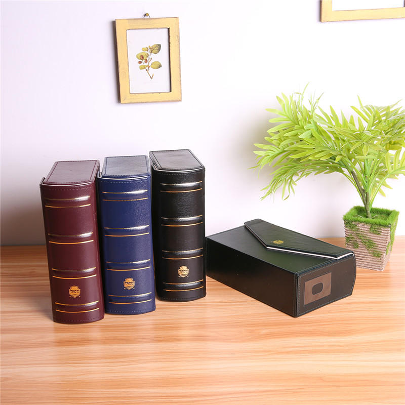 Storage Box For Book Banknotes Currency Holder Letter Paper Money Black