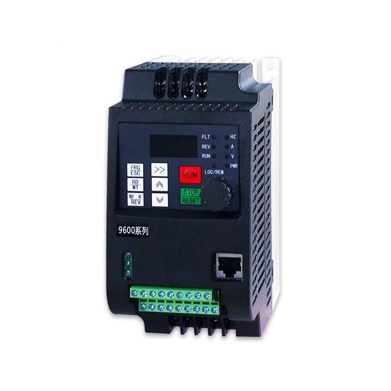 0.75KW 220V fase monofásica e 380V 3 fase de entrada 3 fase saída Mini inversor de frequência variável conversor de velo