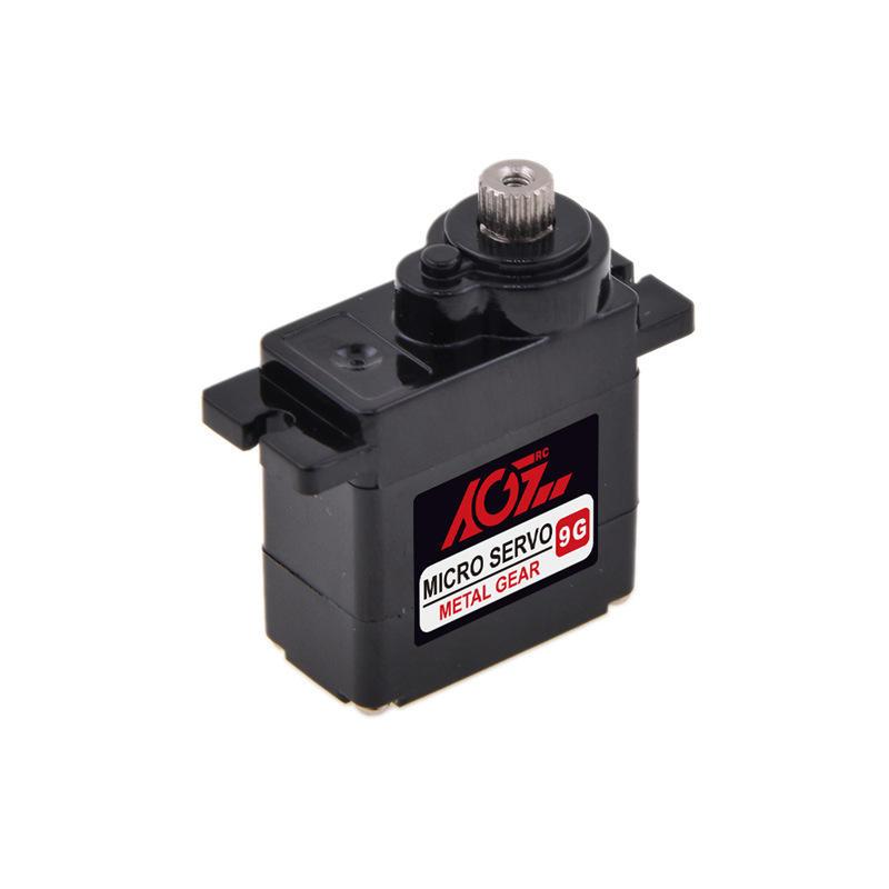 AGF B11DLSA Analógico 2.8 KG 11g Micro Metal Engrenagem Servo Para Asa Fixa RC Avião Robô Do Carro