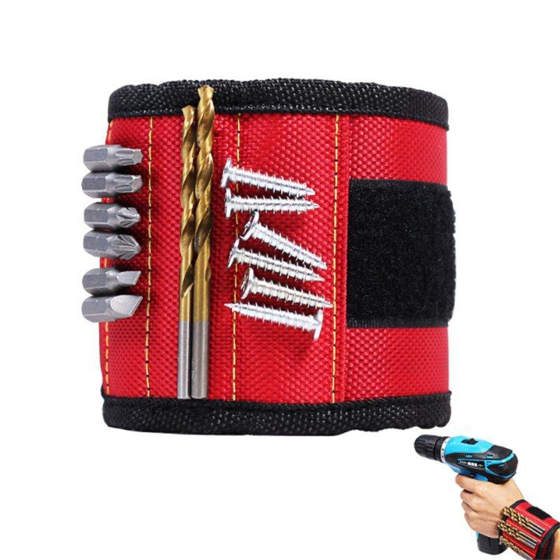 Tool Boxes & Storage Magic Tape Magnetic Wristband Bag