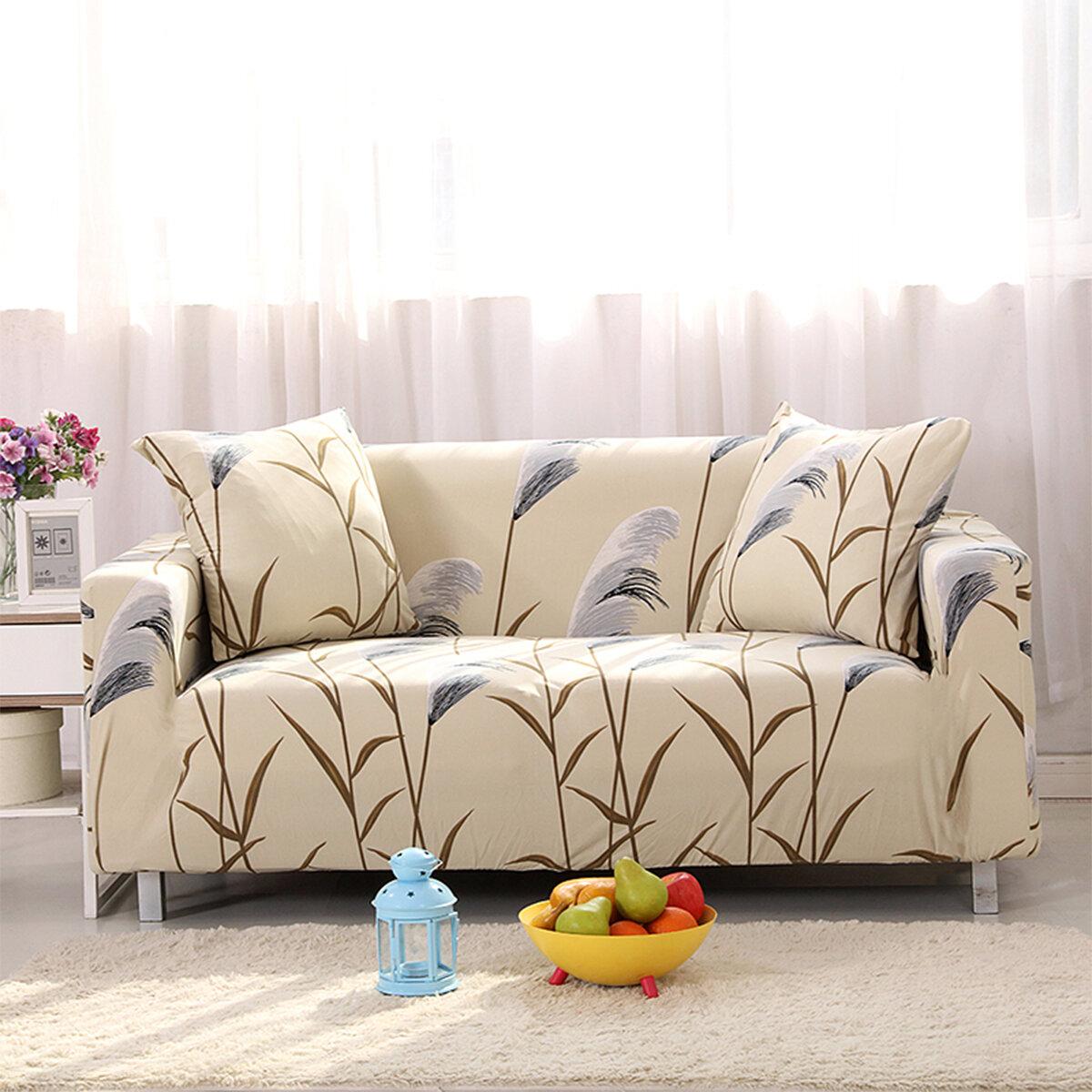 Sofá elástico Seater Protector Funda de sofá lavable Fundas de silla con decoración de funda