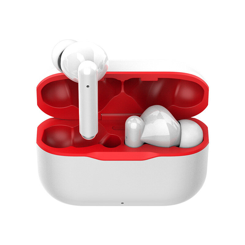 New T06 Wireless bluetooth 5.0 Headset IPX4 Waterproof TWS Eabuds Touch In-ear Sports Music Stereo Earphone with Mic