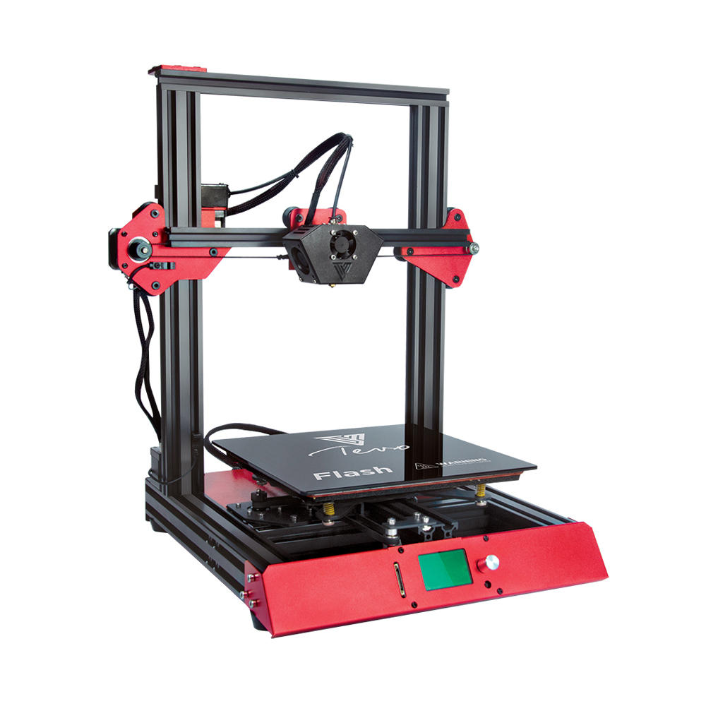 TEVO® 50% Prebuilt Flash 3D Printer Kit with 235*235*250 Large Printing  Size Support Dual Z Axis/BL-Touch Version with TitanExtruder/Volcano Nozzle